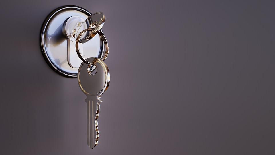 clé brillant propre